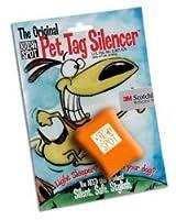 Quiet Spot Pet Tag Silencer, Orange by Quiet Spot