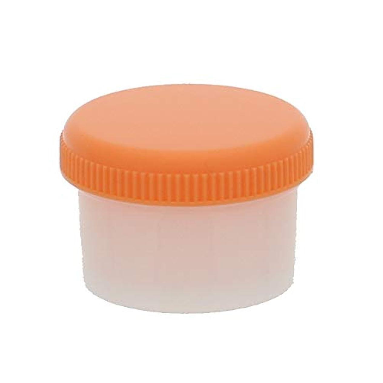 メンバー軍大統領シンリョウ SK軟膏容器 B型6ml オレンジ 個包装電子線滅菌済