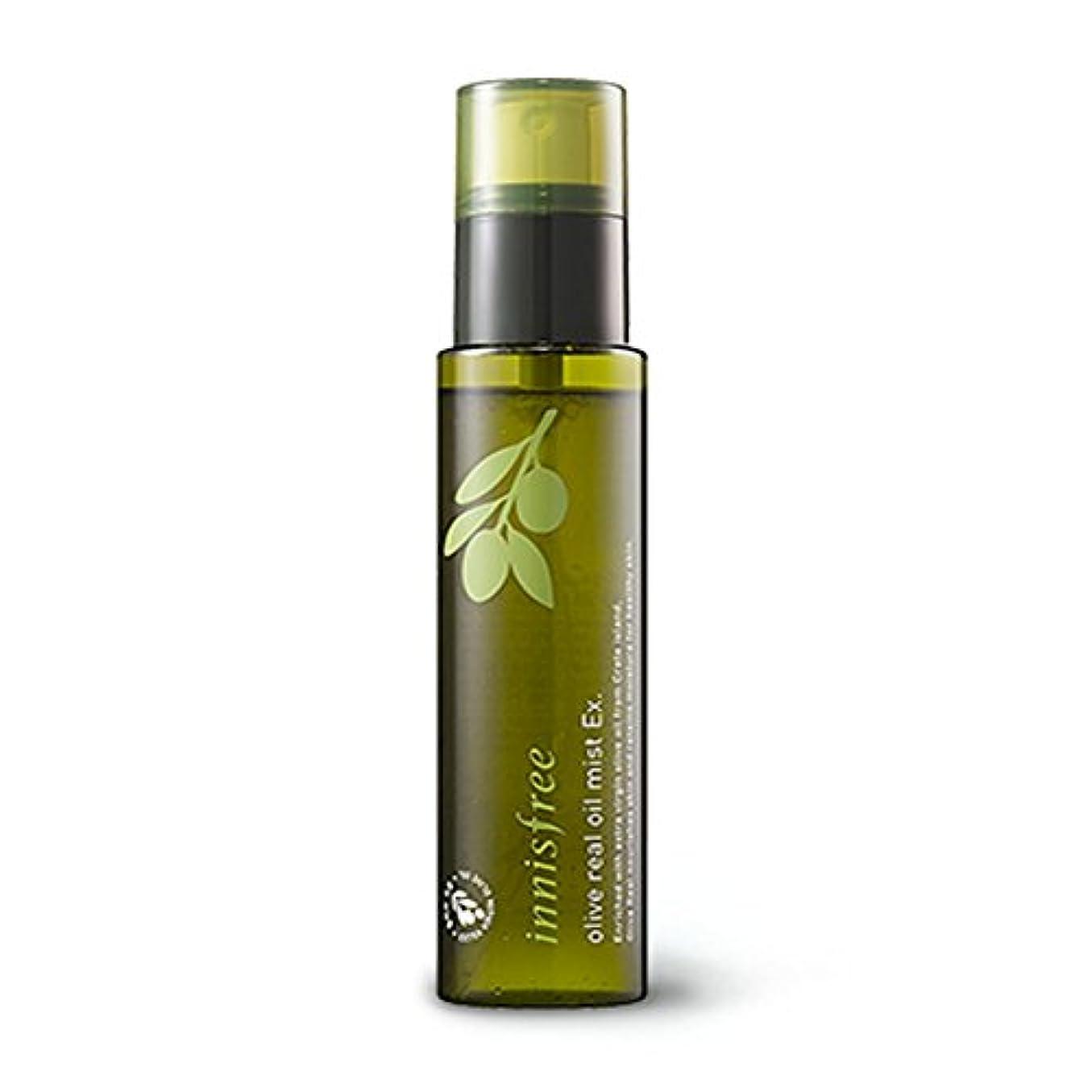 襟衝撃遠近法イニスフリー オリーブリアルオイルミストEx。80ml Innisfree Olive Real Oil Mist Ex. 80ml [海外直送品][並行輸入品]