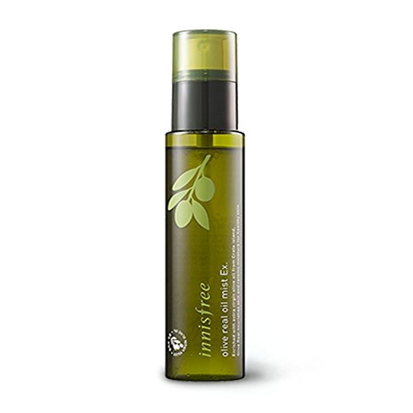 簡潔なする必要がある王位イニスフリー オリーブリアルオイルミストEx。80ml Innisfree Olive Real Oil Mist Ex. 80ml [海外直送品][並行輸入品]