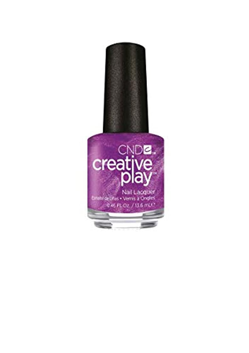 マークされたところで欲求不満CND Creative Play Lacquer - The Fuschia is Ours - 0.46oz / 13.6ml