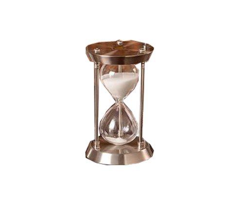 砂時計 1時間 60分 大型 高級 インテリア 時計 60分用 置き時計 時間測定 テーブルゲーム 一時間 (シルバー)