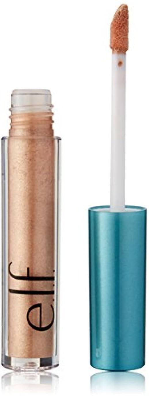 日食航海のヒープe.l.f. Aqua Beauty Molten Liquid Eyeshadow - Brushed Copper (並行輸入品)