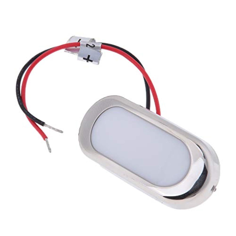うまくやる()お祝い戦闘B Baosity LEDライト  長方形 礼儀ライト マウントボートヨット用 ステンレス鋼製