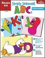 Simply Seasonal ABCs Spring/Summer Grades PreK-K [並行輸入品]