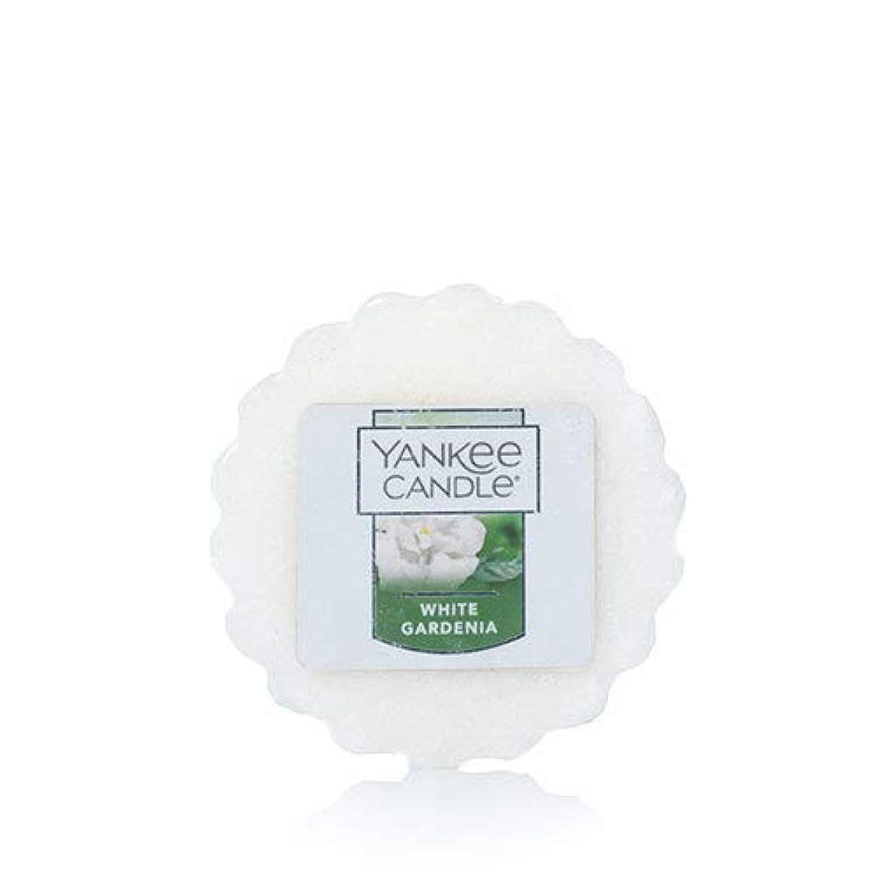 センチメンタル制限された排気【YANKEE CANDLE/ヤンキーキャンドル】Tarts® Wax Melts タルト ワックスポプリ ワックスメルト White Gardenia ホワイトガーデニア 0.8oz (22g)