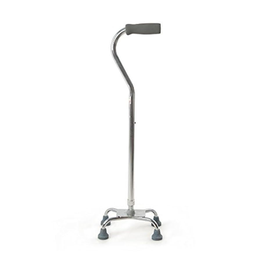 気候率直な序文WENJUN 調整可能な伸縮自在の耐衝撃性のある耐久性のある四足の松葉杖の四隅のケーン老人歩くスティックステンレススチールテレスコピック調節可能なウォーカー