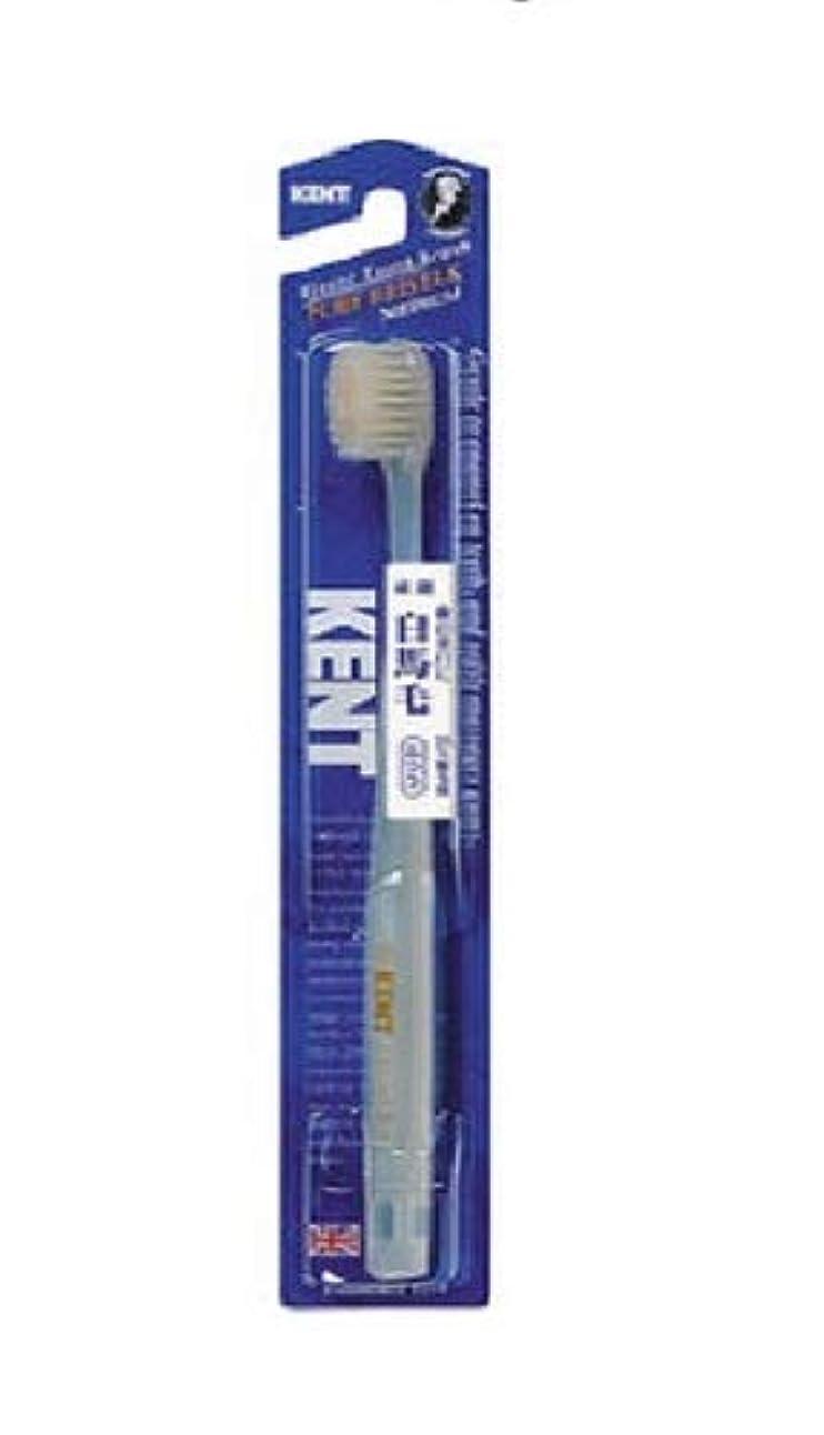 フィールド話公KENT 白馬毛歯ブラシ ふつう コンパクトヘッド KNT-1232