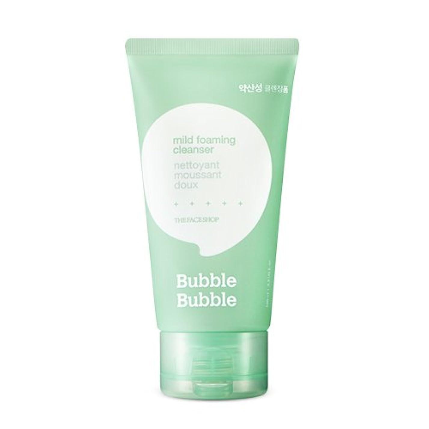スクラップグリットアヒルTHE FACE SHOP Bubble Bubble Foaming cleanser (2.Mild) / ザ?フェイスショップバブルバブルクレンジングフォーム [並行輸入品]