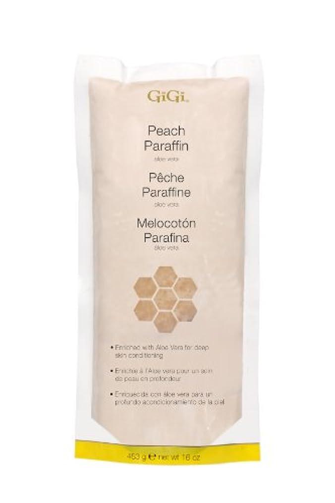上げるコーデリア盲目GiGi Peach Paraffin Wax 453g by Gigi
