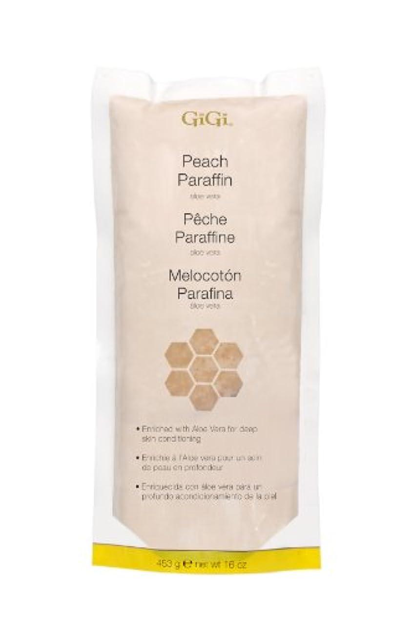 南ロバ失態GiGi Peach Paraffin Wax 453g by Gigi