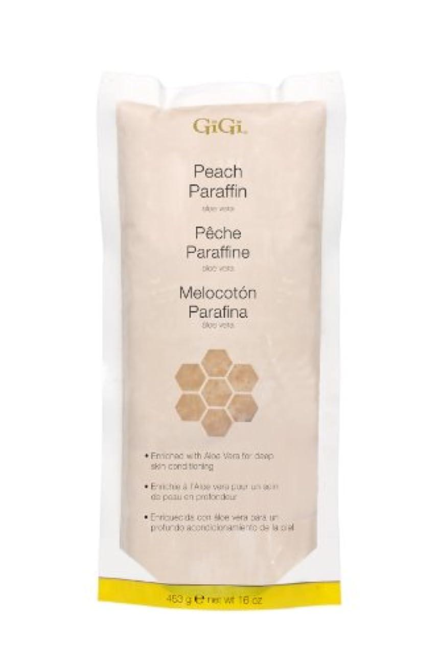 ボランティア虐殺口述するGiGi Peach Paraffin Wax 453g by Gigi