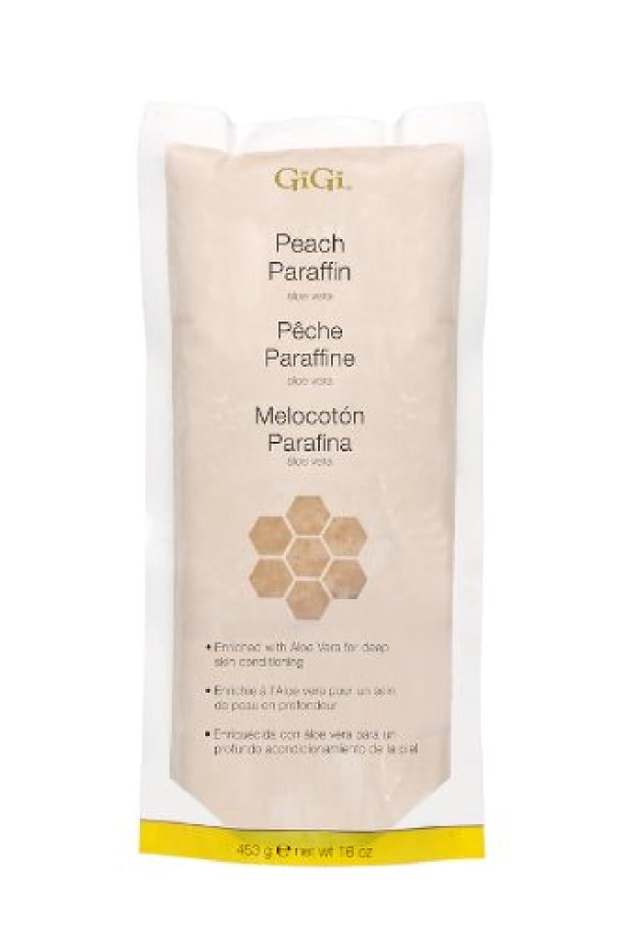 価格バリケード物足りないGiGi Peach Paraffin Wax 453g by Gigi