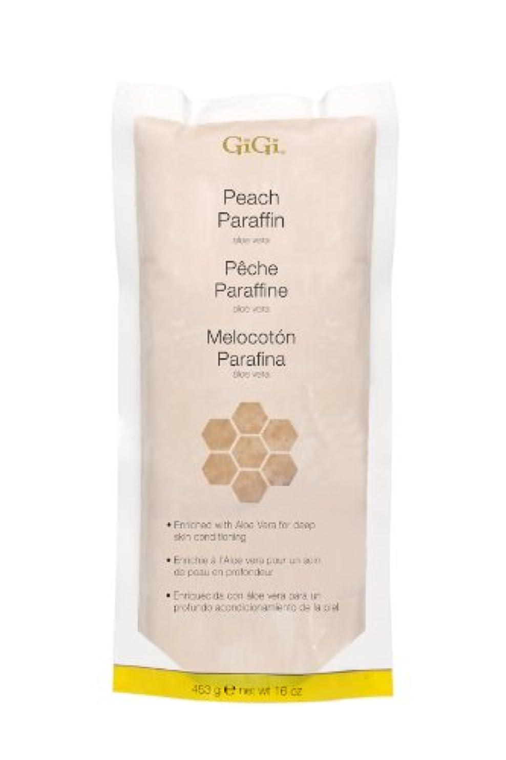 極めて火炎銀河GiGi Peach Paraffin Wax 453g by Gigi