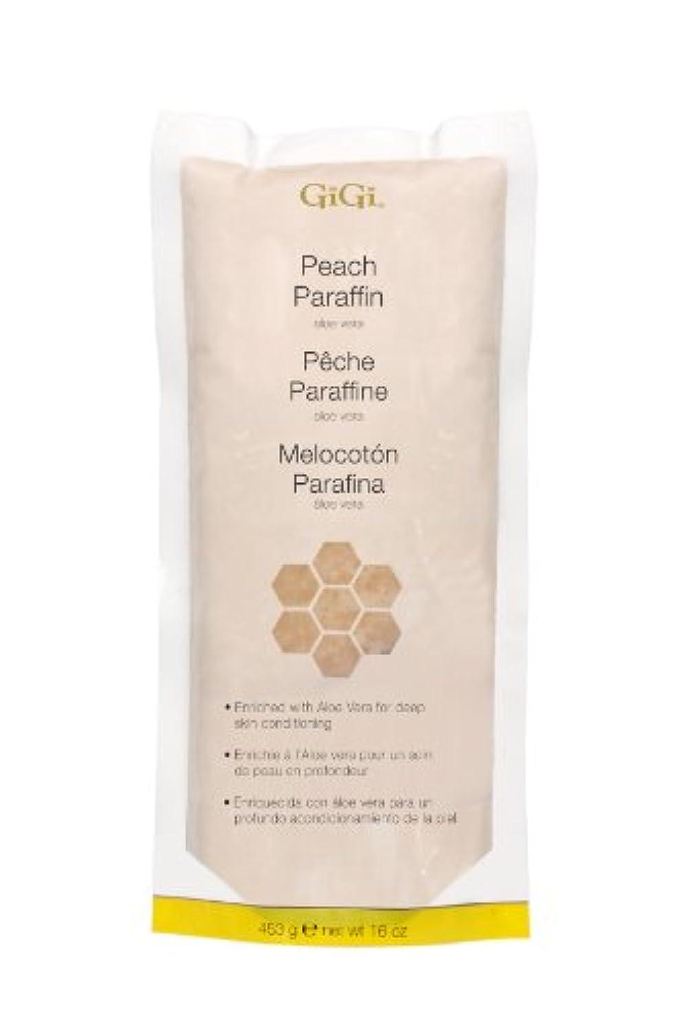 望まないアナウンサー採用GiGi Peach Paraffin Wax 453g by Gigi