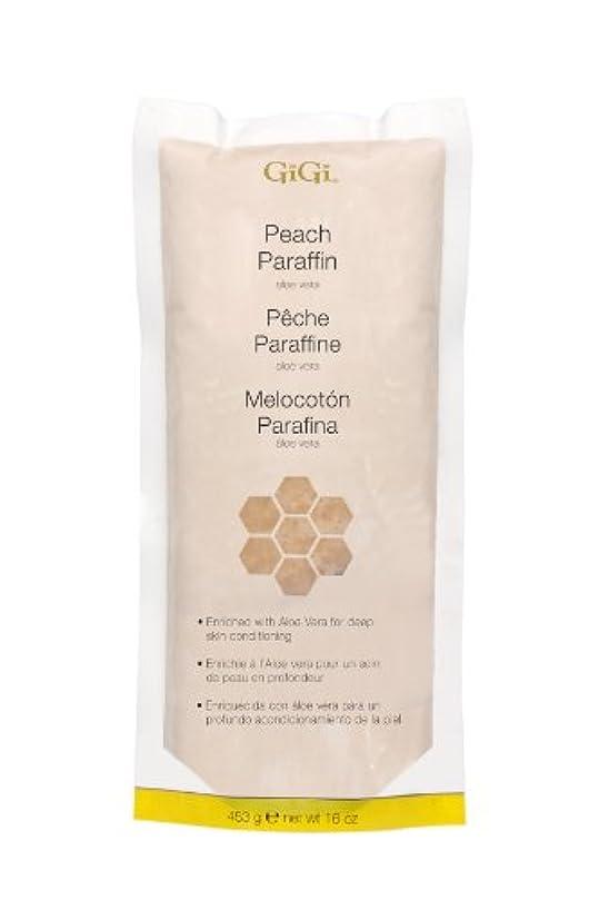 ポット何十人も韓国GiGi Peach Paraffin Wax 453g by Gigi