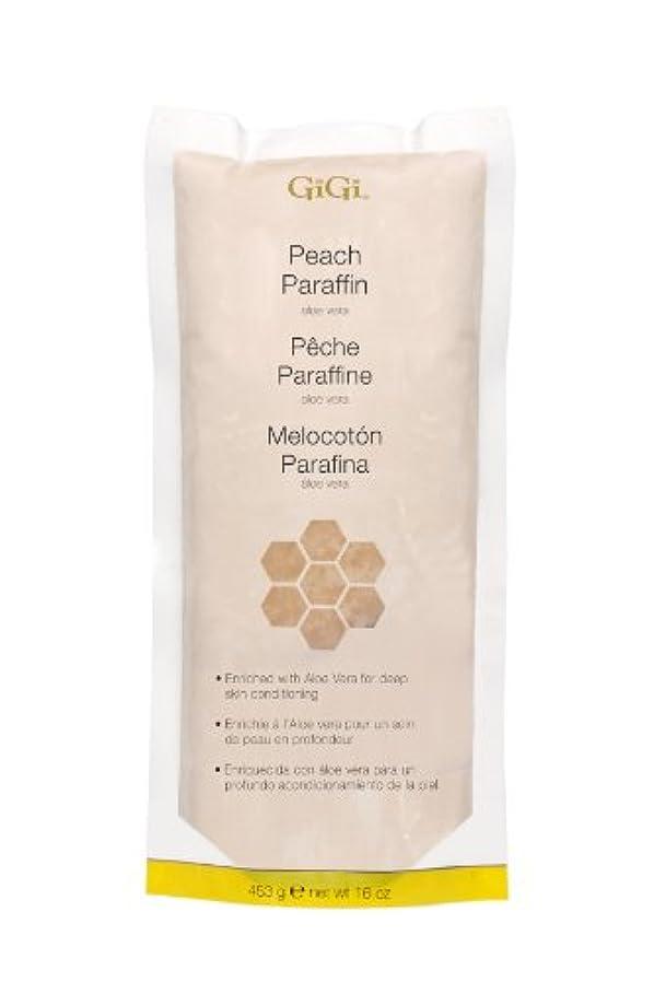 光の遺産病気だと思うGiGi Peach Paraffin Wax 453g by Gigi