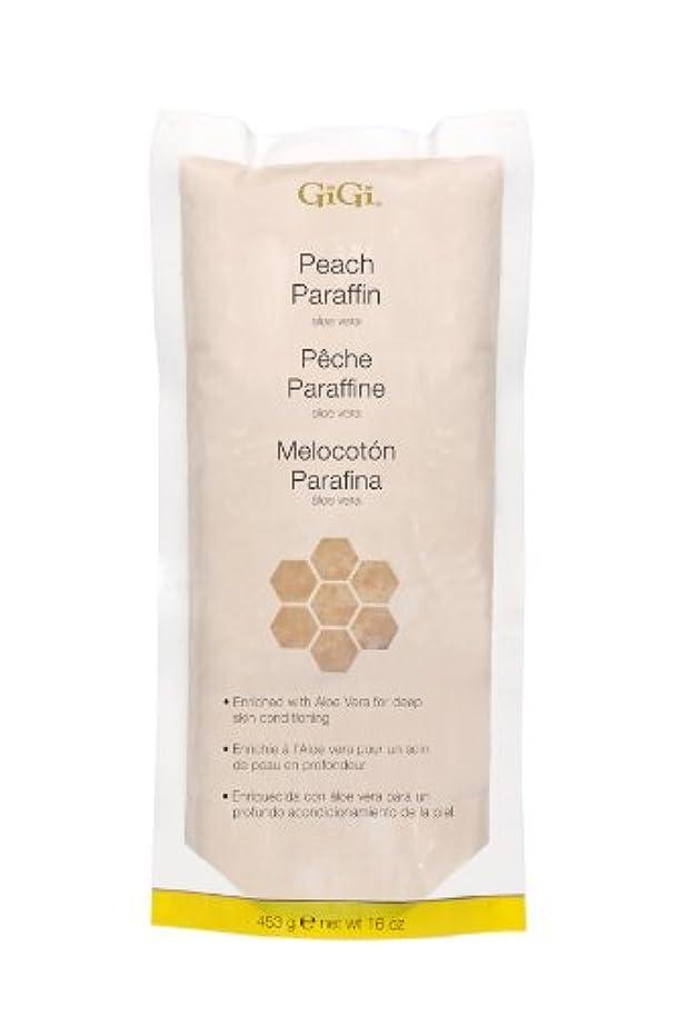 インスタント動員する再生GiGi Peach Paraffin Wax 453g by Gigi