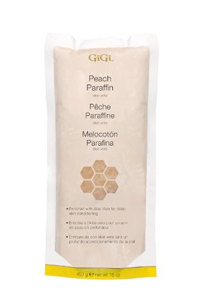 自体カウンタ農村GiGi Peach Paraffin Wax 453g by Gigi