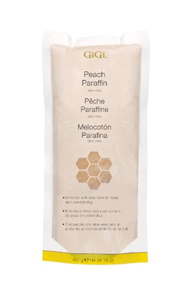 枯れるクロールテーブルGiGi Peach Paraffin Wax 453g by Gigi