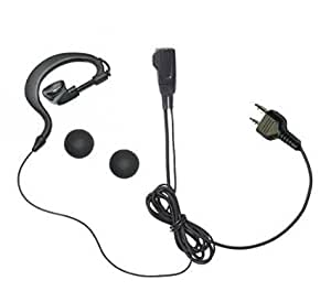 アルインコ ALINCO 2ピン用 特定小電力 トランシーバー用 耳掛け式イヤホンマイクDXタイプ DJ-P9 P11 P20 PA20 CH20B CH27B P24 A27 P35D P21 CH9 CH11 S12 S42 用