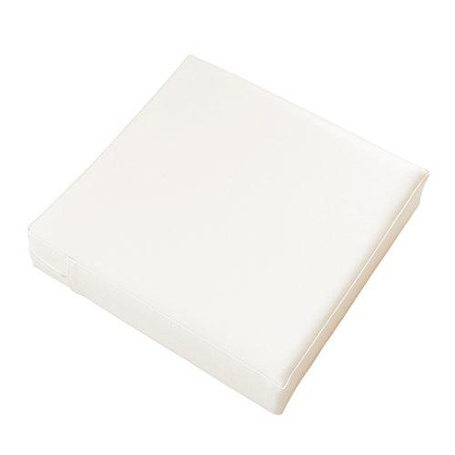 TEES FACTORY 国産 PVC レザー クッション CO-LEON ホワイト