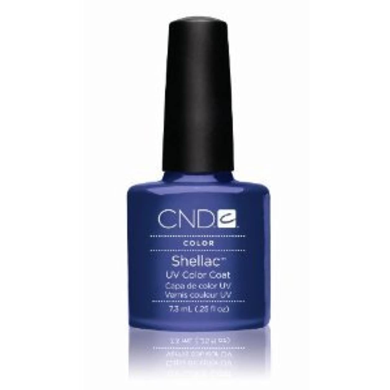 暴徒パレード神秘的なCND(シーエヌディー) シェラック UVカラーコート7.3mL 530 Purple Purple(パール) [並行輸入][海外直送品]