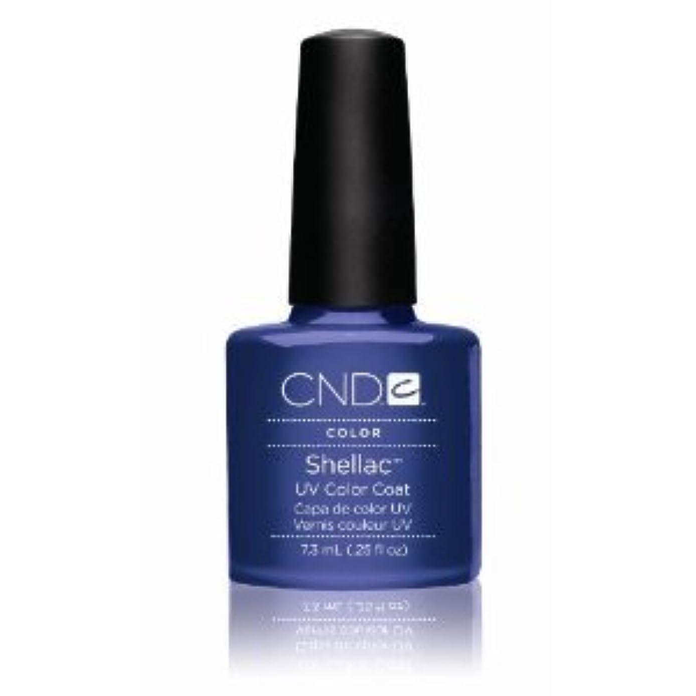 マイクロ折る確立しますCND(シーエヌディー) シェラック UVカラーコート7.3mL 530 Purple Purple(パール) [並行輸入][海外直送品]
