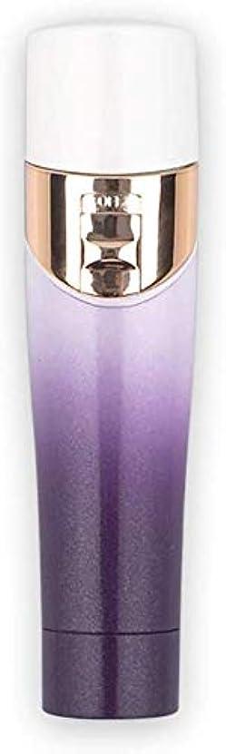 メーカー蚊反抗L.TSA電動脱毛器ミニ脇の下脚腕ボディ女性口紅タイプ脱毛痛みのないポータブル低ノイズシェービンググラデーション充電