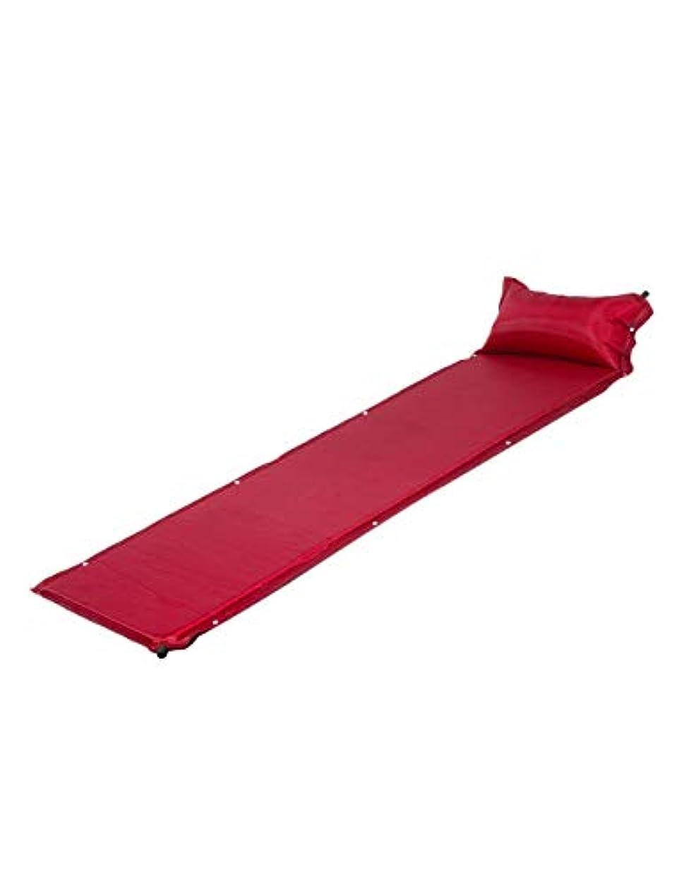 高価な絶対に涙屋外 自動 膨張層 Inflating Mat 旅行用枕 - 耐久性と折り畳み コンパクトキャンピングマット ピロー 耐水性 Zhhlaixing