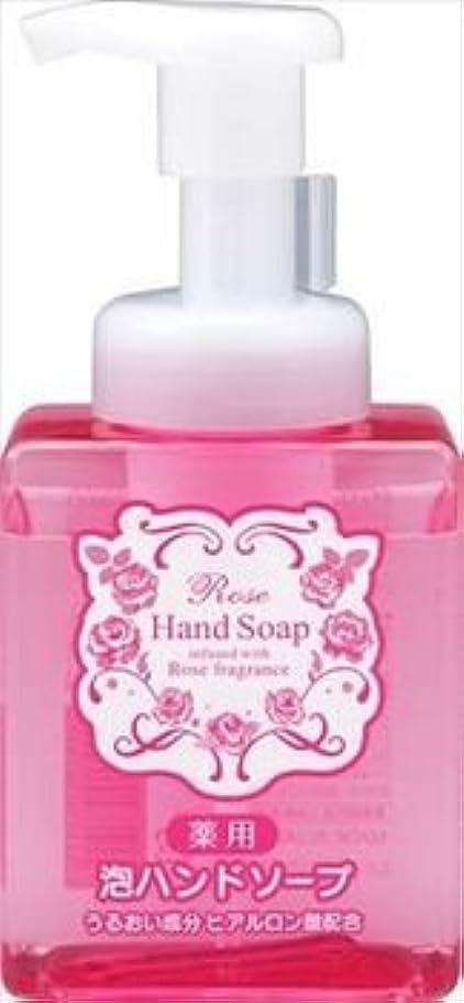 代わりに頻繁にソース熊野油脂 ローズ 薬用 泡 ハンドソープ 本体(250ML)
