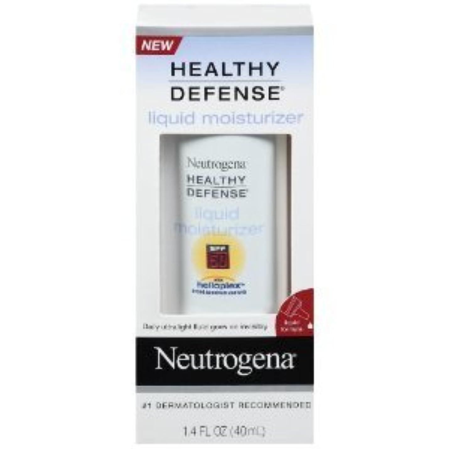 ブルーム思春期のここにニュートロジーナ SPF50 ヘルシーディフェンス デイリーモイスチャライザー(ヘリオプレックス) Neutrogena Healthy Defense Daily Moisturizer with Helioplex...