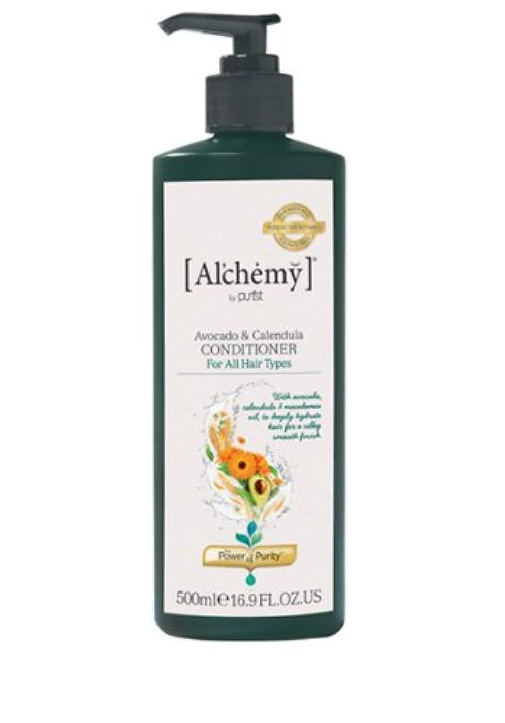 ミュートみラグ【Al'chemy(alchemy)】アルケミー アボカド&カレデュラ コンディショナー(Avocado&Calendula Conditioner)(ドライ&ロングヘア用)お徳用500ml
