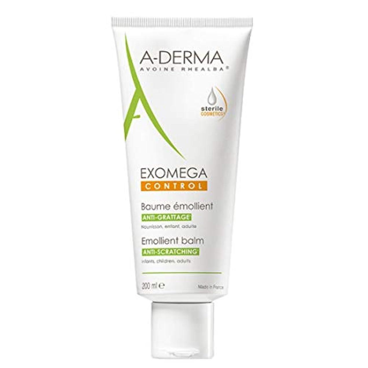 キャッチ細胞寝室A-derma Exomega Control Emollient Balm 200ml [並行輸入品]