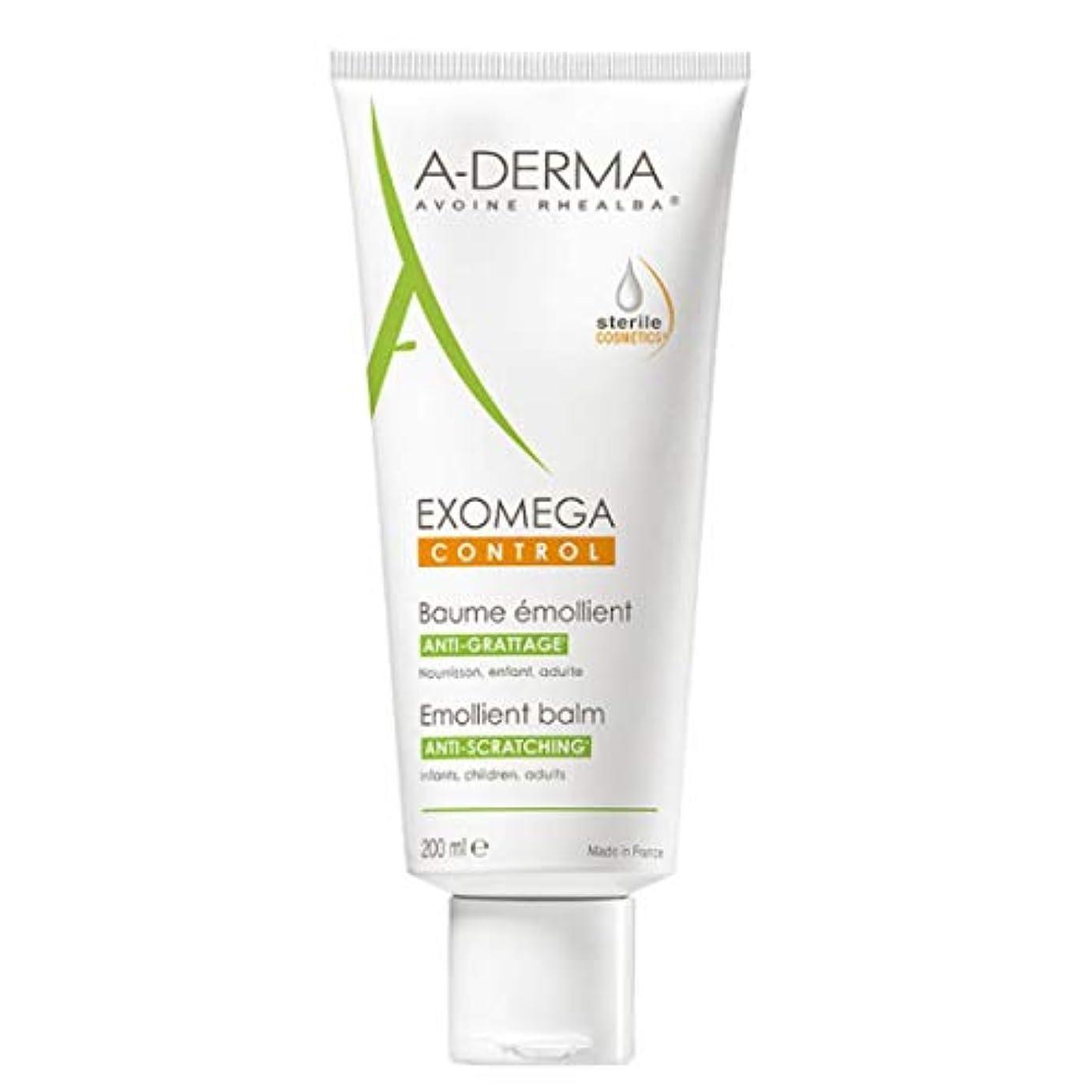 遅いナースオーバーコートA-derma Exomega Control Emollient Balm 200ml [並行輸入品]