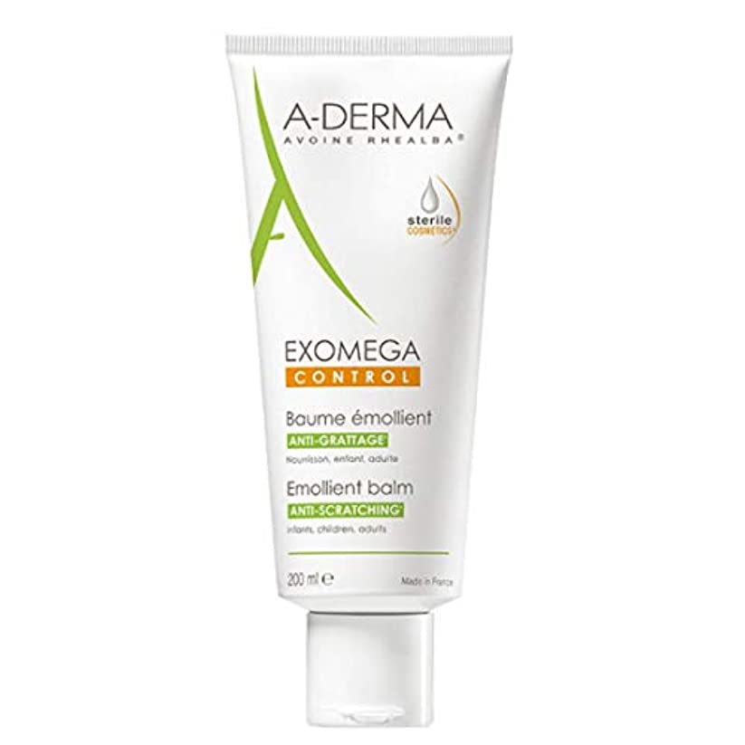 玉調和のとれたソーセージA-derma Exomega Control Emollient Balm 200ml [並行輸入品]