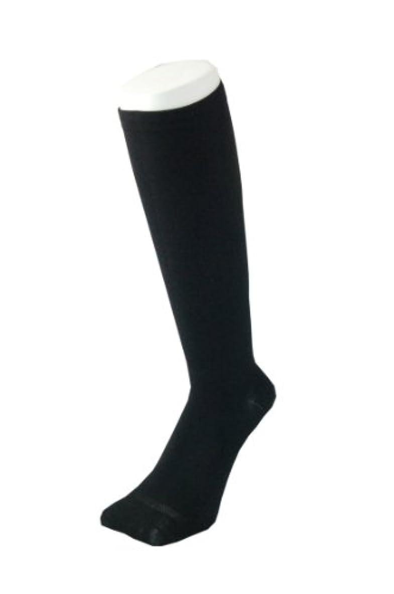 どうやらブレンド任意PAX-ASIAN 紳士 メンズ 着圧靴下 ムクミ解消 締め付け サポート ハイソックス (抗菌加工) 1足組 #800 (黒)