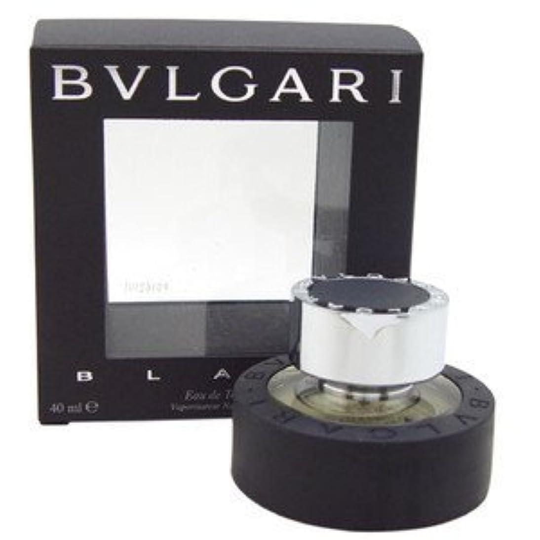 帳面気まぐれなキュービックブルガリ(BVLGARI) ブラック EDT SP 40ml[並行輸入品]