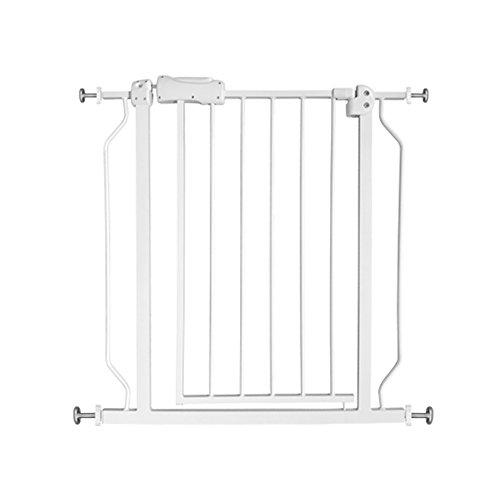 ALLAIBB ベビーゲート 階段上 おくだけ 突っ張り 白 取付簡単 ペットゲート 壁を傷つけない size 取付幅61-...