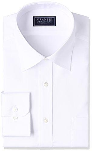 (ヤマキ) YAMAKI ORANTIS 綿100% 高水準の形態安定加工ワイシャツ(SUPER NO-IRON) 82サイズ