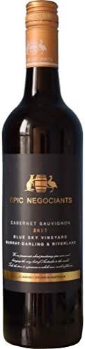 【カシス、ブラックベリー、カカオ の香り】エピック・ネゴシアンツ・ブルー・スカイ カベルネ・ソーヴィニヨン 750ml [ オーストラリア/赤ワイン/フルボディ/winery direct ]