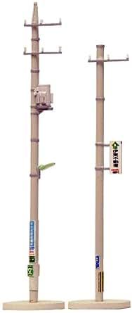 トミーテック ジオコレ 情景コレクション 情景小物091 電柱B ジオラマ用品