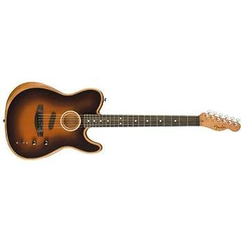 Fender American Acoustasonic Telecaster Ebony Fingerboard Sunburst エレアコギター フェンダー
