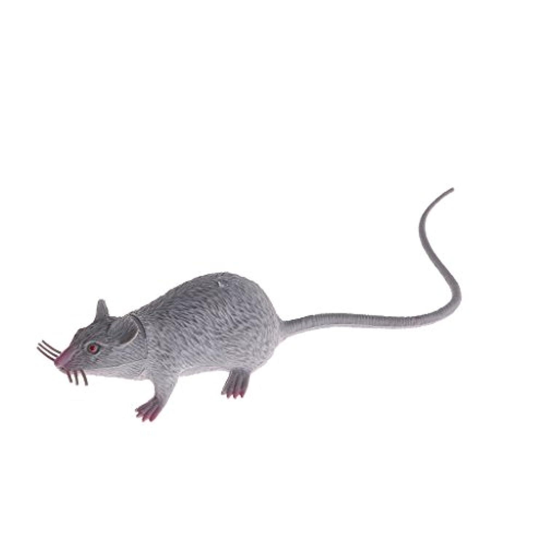 SimpleLifeリアルなマウスモデルプロップハロウィンギフトのおもちゃパーティーの装飾フィギュアキッズベストギフト