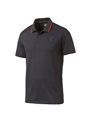 [해외](푸마) PUMA 남성 티셔츠 572155 FERRARI LS SS 폴로 셔츠/(PUMA) PUMA mens polo shirt 572155 FERRARI LS SS polo shirt