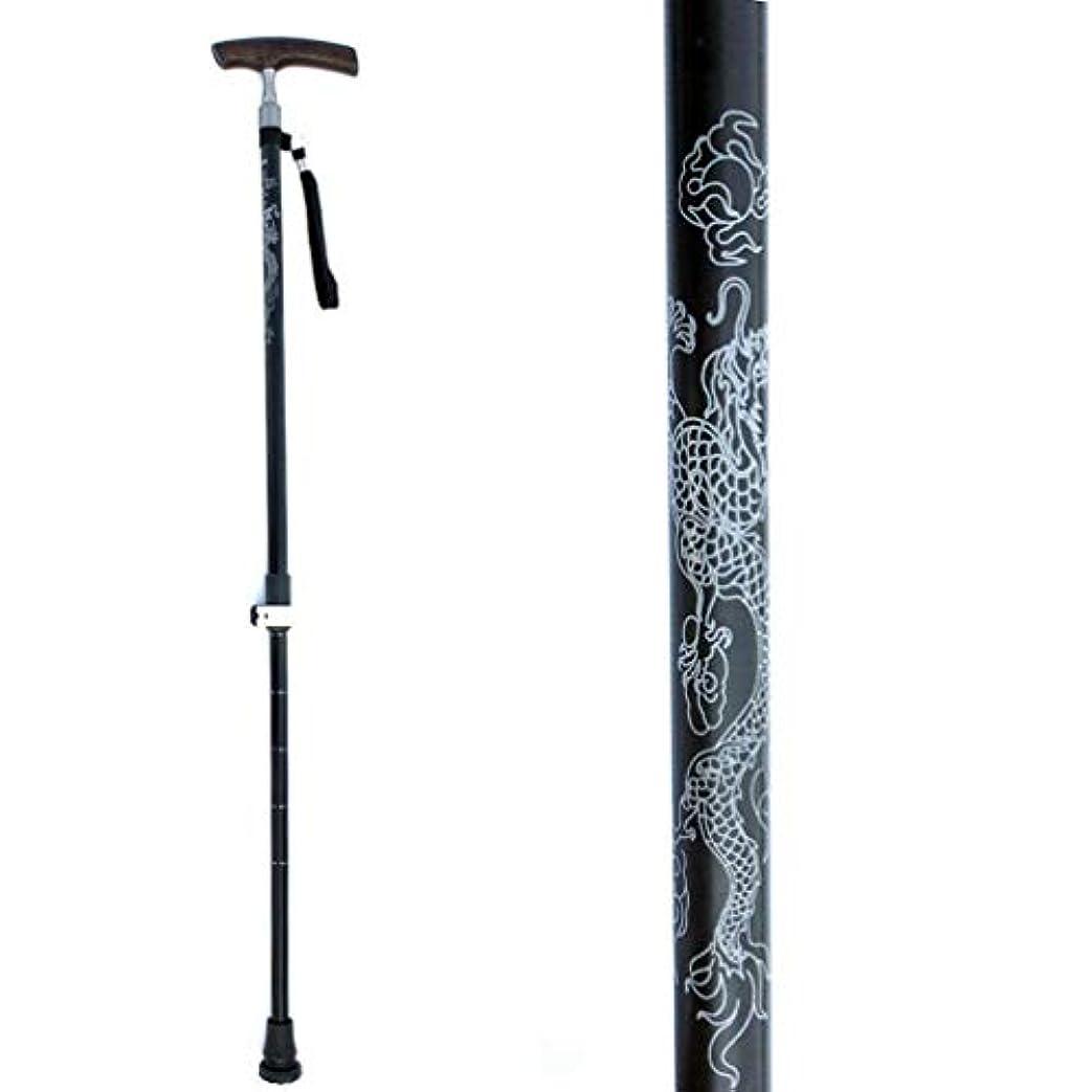 目を覚ます宙返り商品軽量調節可能な歩行杖、人間工学に基づいたTグリップハンド松葉杖、アルミ超軽量トレッキングポール、ダンピング滑り止めマット