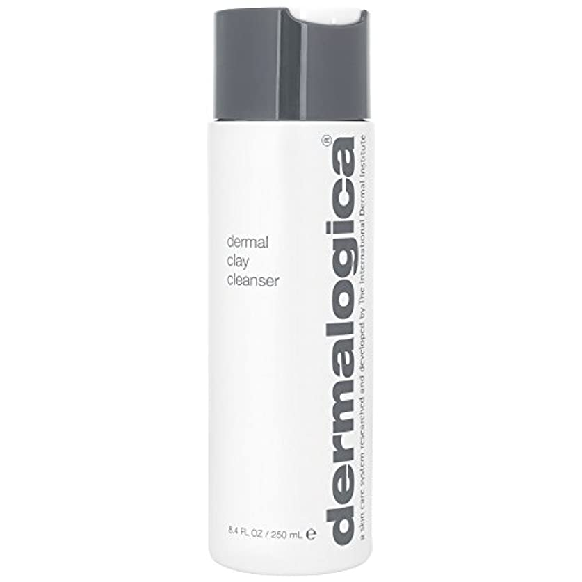 郵便チャートベックスダーマロジカ真皮クレイクレンザー250ミリリットル (Dermalogica) (x2) - Dermalogica Dermal Clay Cleanser 250ml (Pack of 2) [並行輸入品]