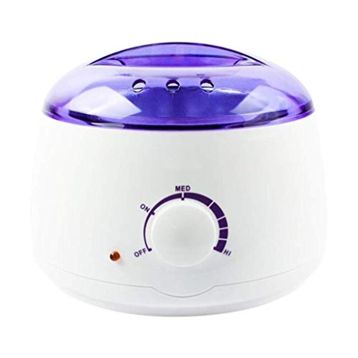 アーカイブローブ告白プロの電気ワックスヒーター、ヒーター、ソフト、パラフィン、暖かい、クリームとリボンワックスに適しています。大広間のための調節可能な温度の毛の取り外しのためのワックスメルター、品質の結果 (Color : White)