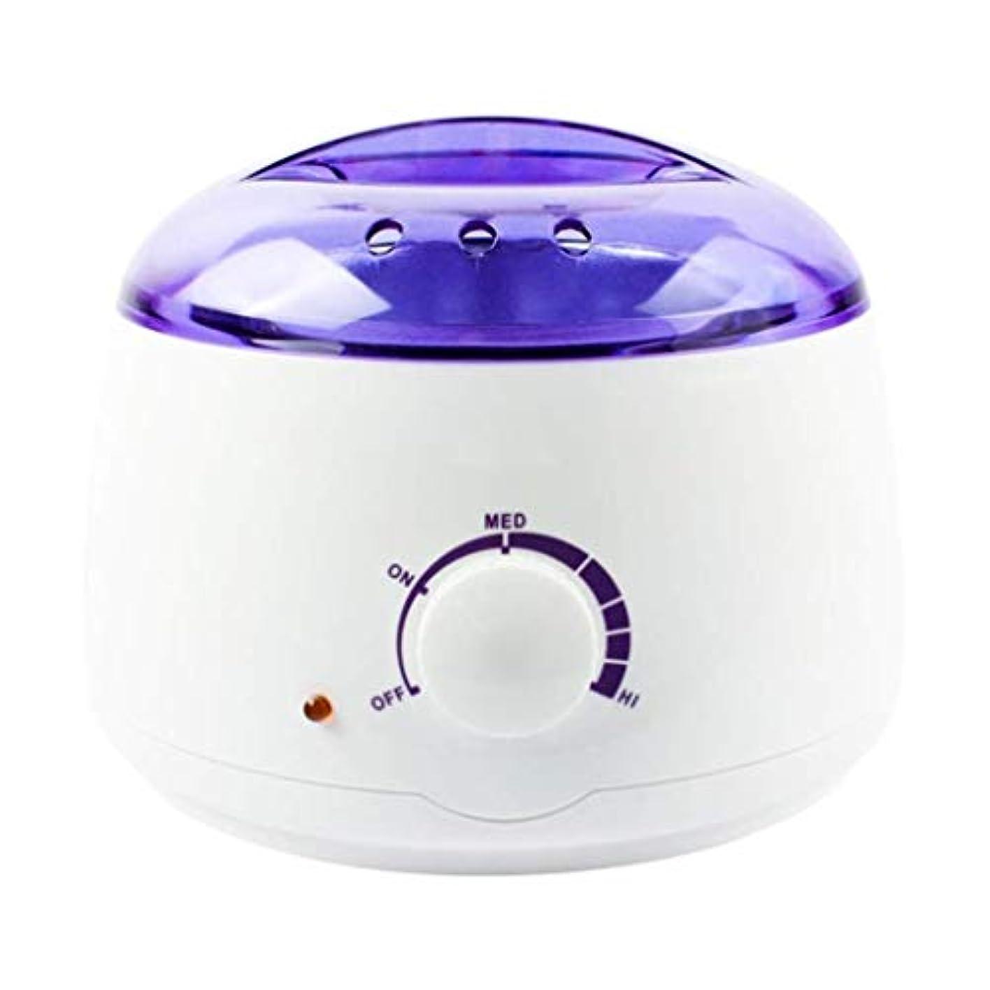魂好むアパートプロの電気ワックスヒーター、ヒーター、ソフト、パラフィン、暖かい、クリームとリボンワックスに適しています。大広間のための調節可能な温度の毛の取り外しのためのワックスメルター、品質の結果 (Color : White)