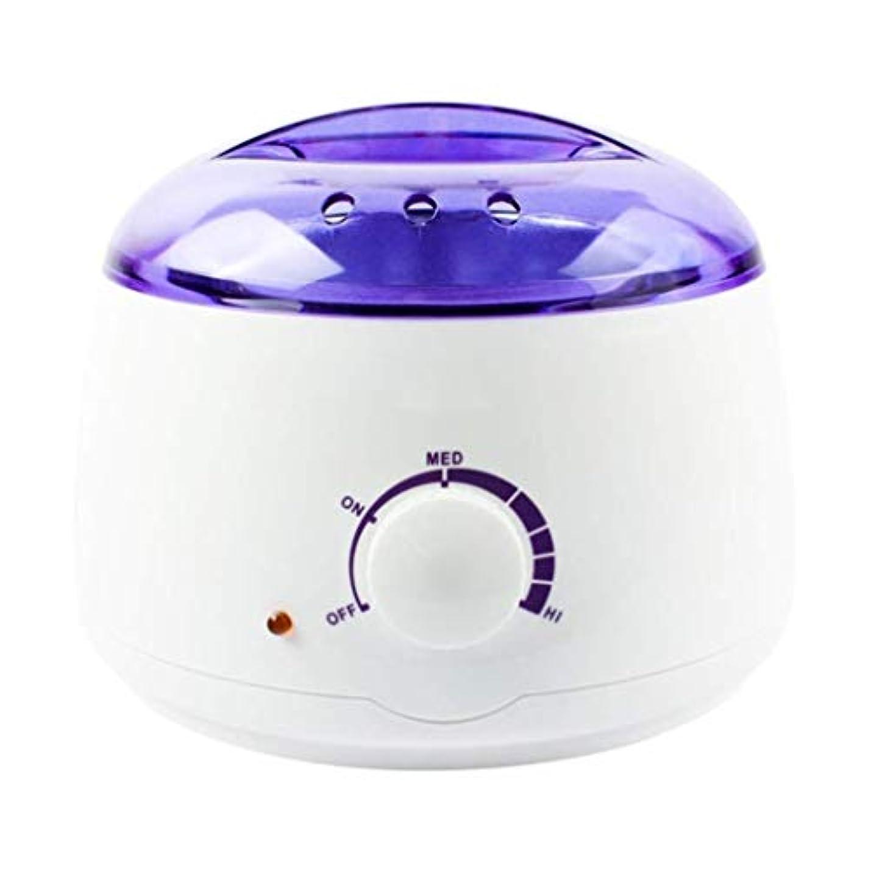 復活させる二の中でプロの電気ワックスヒーター、ヒーター、ソフト、パラフィン、暖かい、クリームとリボンワックスに適しています。大広間のための調節可能な温度の毛の取り外しのためのワックスメルター、品質の結果 (Color : White)